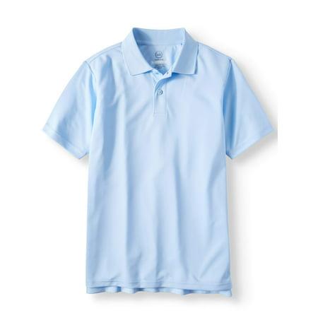 305d50f5812 Boys School Uniform Short Sleeve Performance Polo