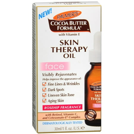 Palmer's Cocoa Butter Formula Skin Therapy Oil for Face 1 oz (Pack of