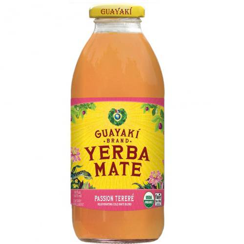 Guayaki Pure Passion, 16 Fluid Ounce (Pack of 12)