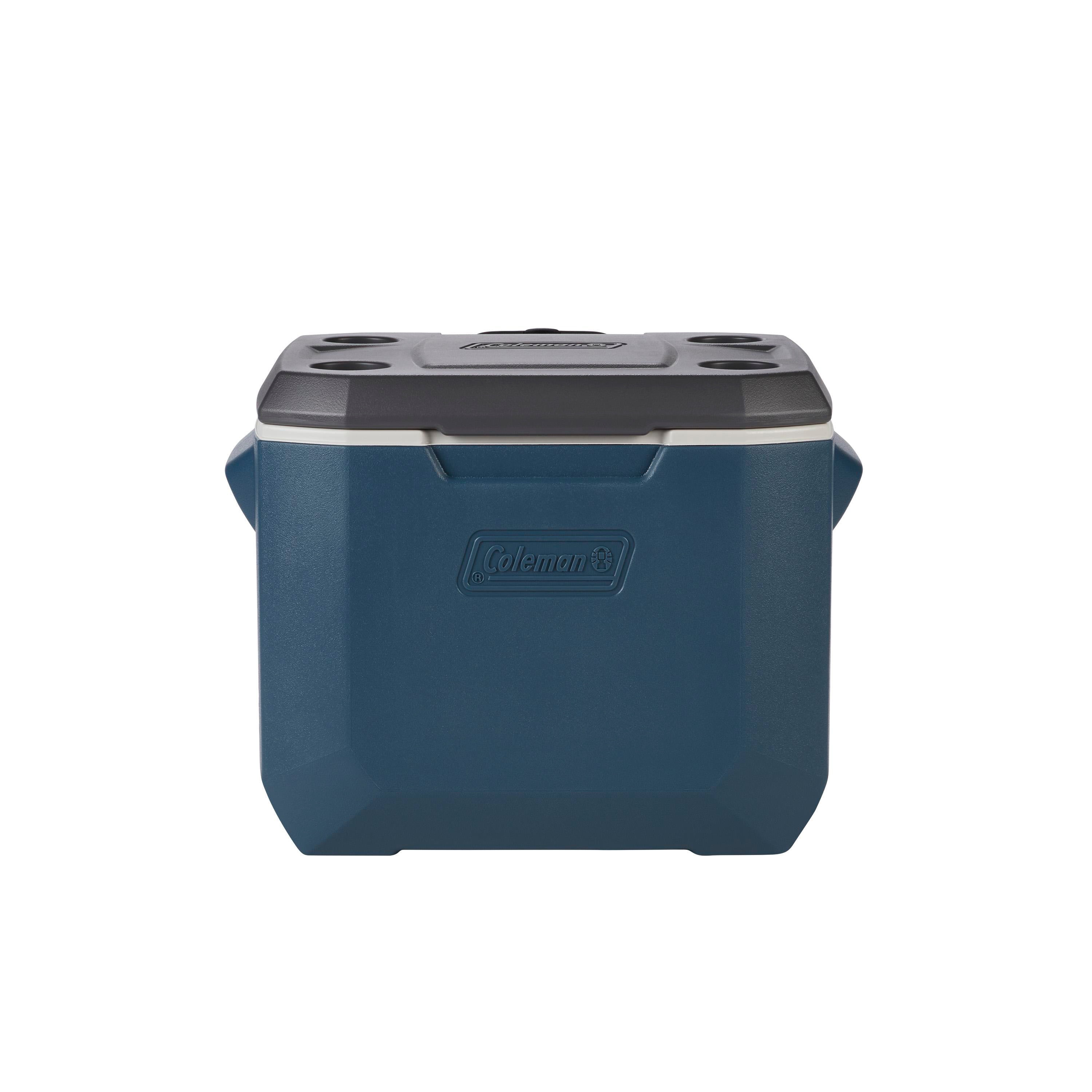 Hot//Cold Quiet Thermozone Polyethylene Gray Coleman Thermoelectric Cooler 40 Qt