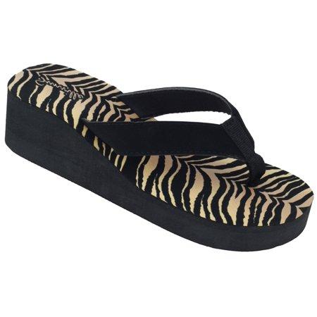 786f163dfc1f Womens FLIP FLOPS Summer Flats Thong Studded Bling Platform Sandals ...