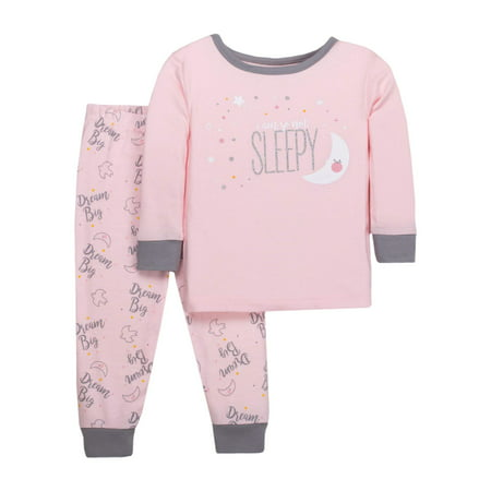 Baby Toddler Girl Tight Fit Pajamas 552a0ad66