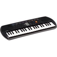 Casio SA-77 44 Key Mini Personal Keyboard - 100 Tones and 50 Rhythms [Pink]