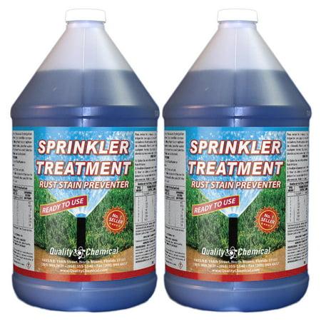 Sprinkler Treatment Rust Stain Preventor - 2 gallon