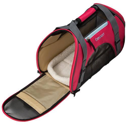 Bergan Comfort Pet Carrier, Small, Black & Brown by bergan