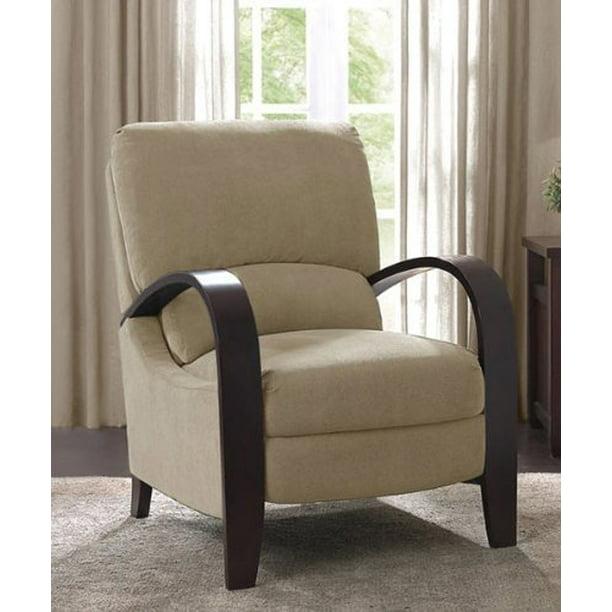 Microfiber Recliner Chair Bent Wood, Bent Wood Arm Recliner