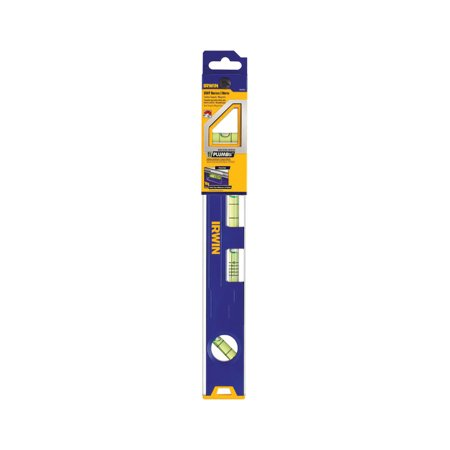 Irwin 12 in. Aluminum Magnetic Tool Box Level 4 vial
