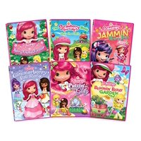 Strawberry Shortcake Bundle - Factory SEALED (6 - Movies)