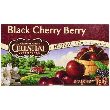 Celestial Seasonings Black Cherry Berry Tea, 20 ct
