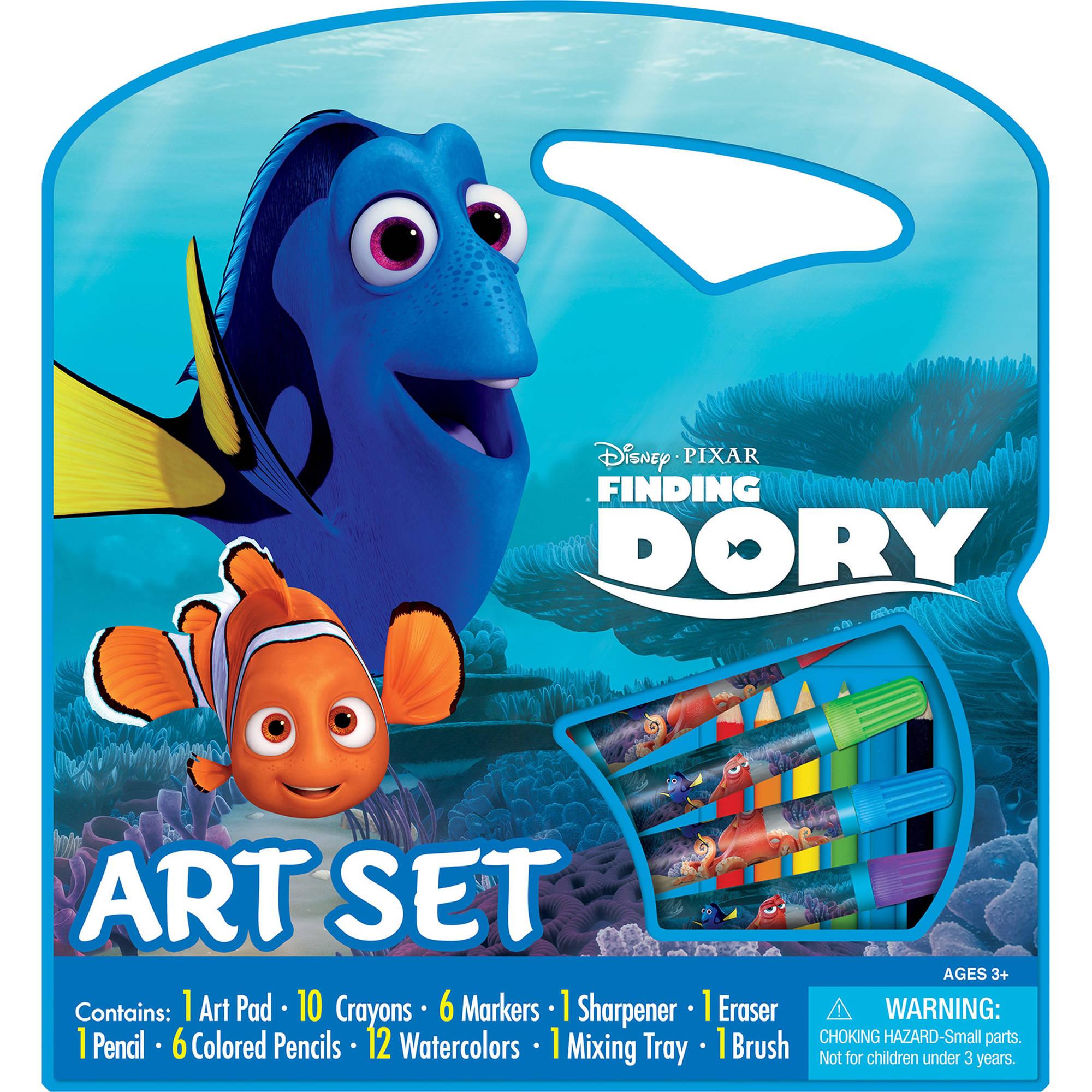 Bendon Disney PIXAR Finding Dory Character Art Set