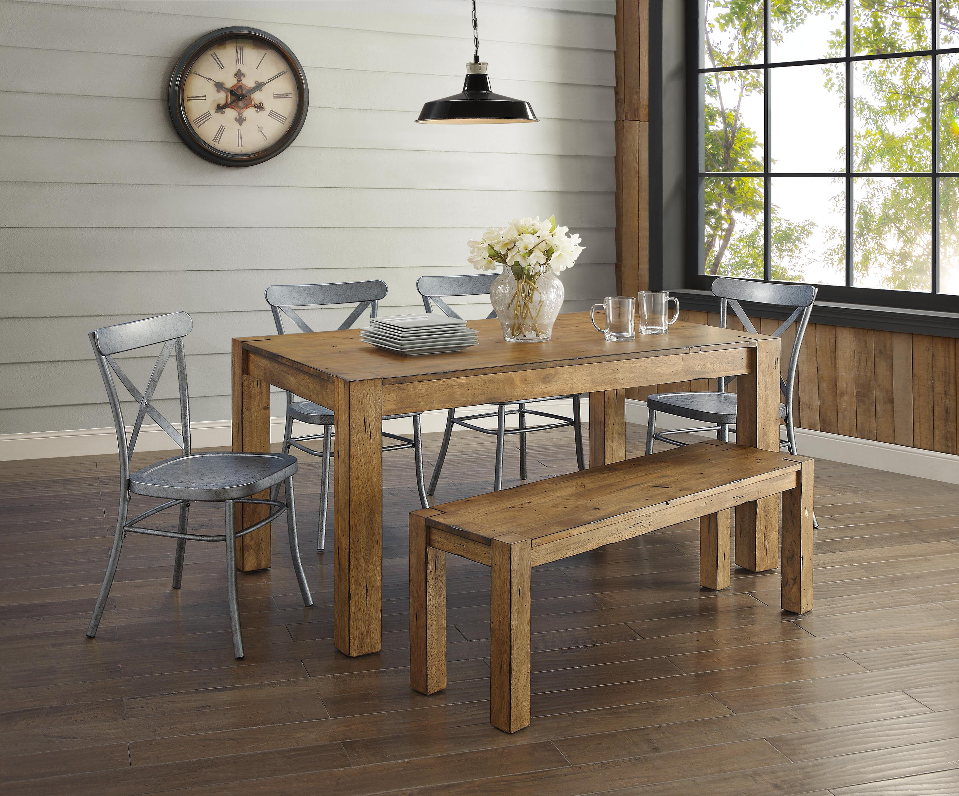 Better homes gardens bryant dining table multiple finishes walmart com