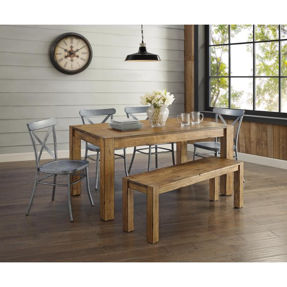 Fine Better Homes Gardens Bryant Dining Table Rustic Walmart Com Gmtry Best Dining Table And Chair Ideas Images Gmtryco