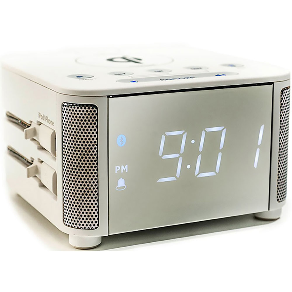 Multi-Function Alarm Clock with Wireless Charging