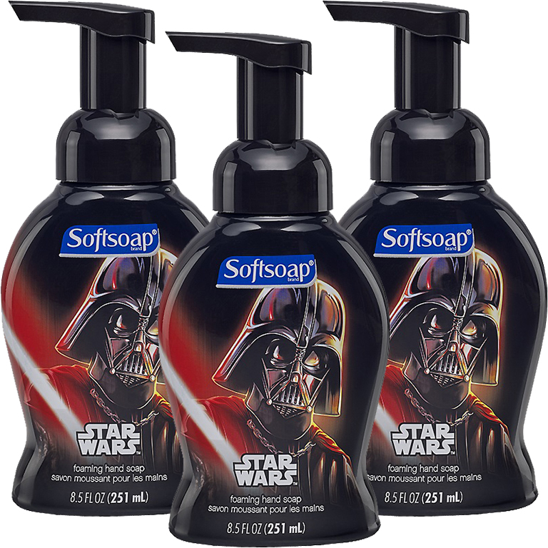 Softsoap Star Wars Foaming Hand Soap, 8.5 Oz, 3 Pack