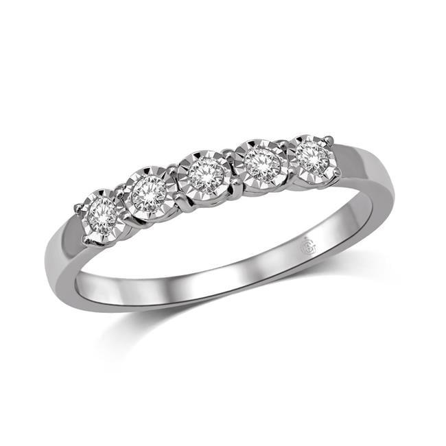 Illusion 59239W-A3-10KT 10K 0.33 Carat Diamond Ladies Band - image 1 de 1