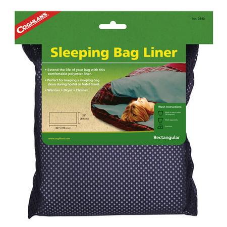 Coghlan's Sleeping Bag Liner, Rectangular Bio Bag Liner