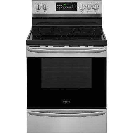 Frigidaire FGEF3059T 30 Inch Wide 5.7 Cu. Ft. Free Standing Electric Range with Effortless Convection Conversion and Effortless Temperature