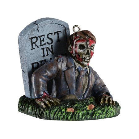 Zombie Lawn Ornaments (HorrorNaments Undead Zombie Halloween Christmas Tree Ornament)