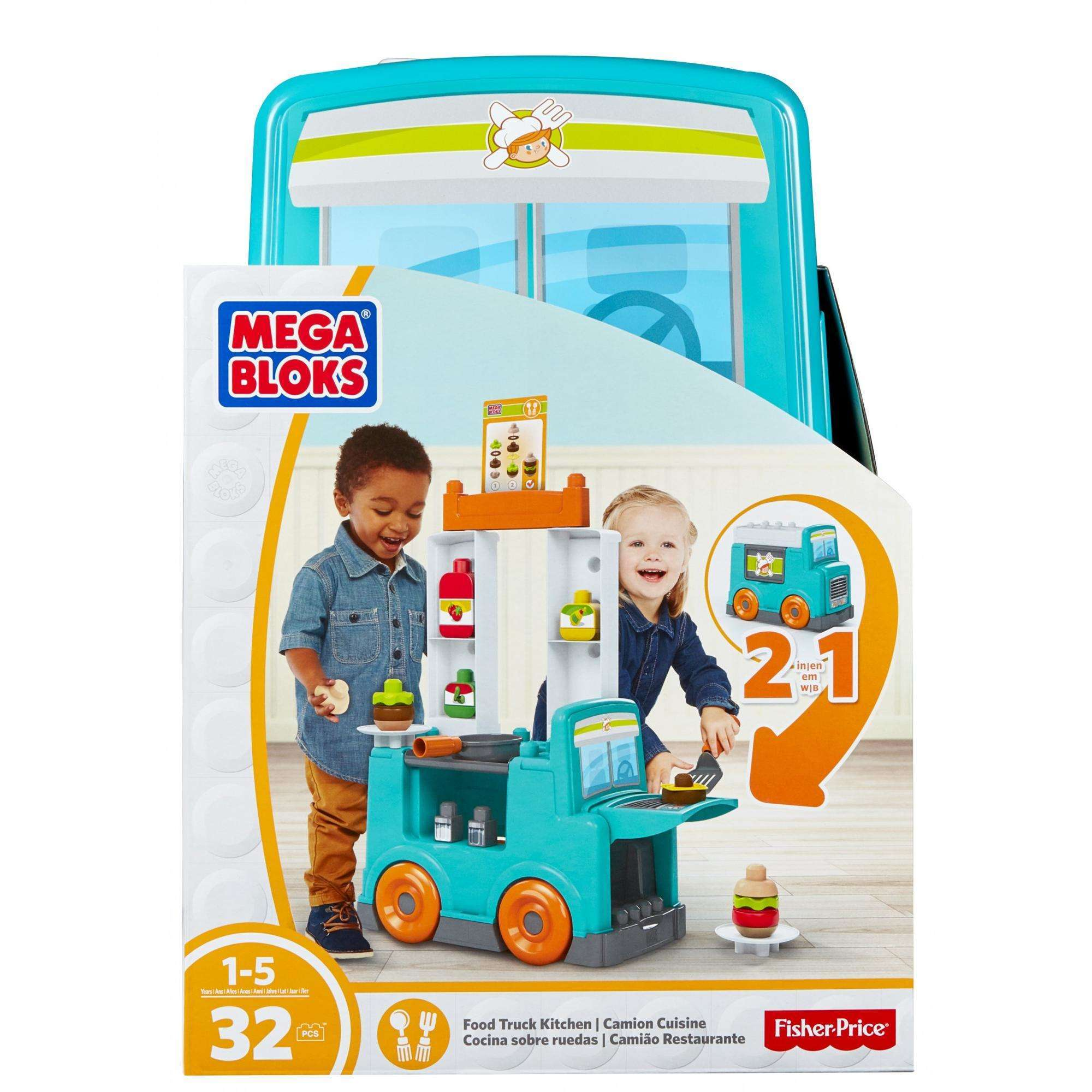 Mega Bloks Food Truck Kitchen - Walmart.com
