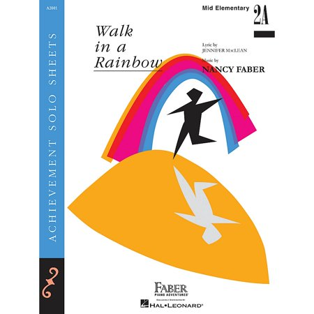 This Is Halloween Piano Solo (Faber Piano Adventures Walk in a Rainbow (Mid-Elem/Level 2A Piano Solo) Faber Piano Adventures Series by Nancy)