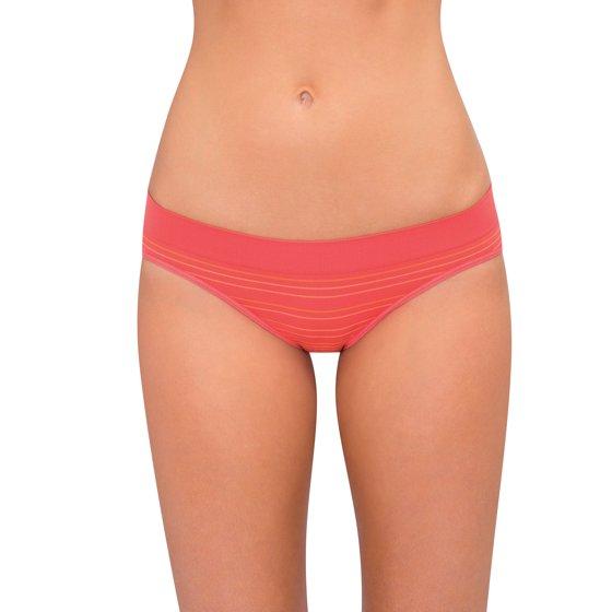 e5f7d2f02844 Secret Treasures - Women's Seamless Bikini Panty - 5 Pack - Walmart.com