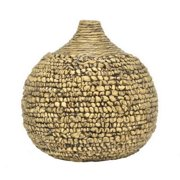 Benzara 33347 Fashionable Water Hyacinth Vase