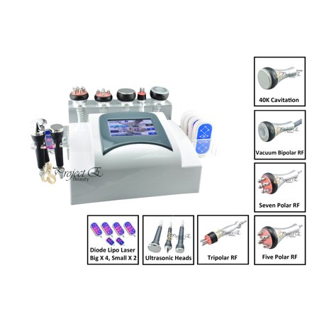 Brand New Lipo Laser Diode Ultrasound Cavitation Red LED Multipolar RF Ultrasonic Cellulite Fat Removal Firming Machine