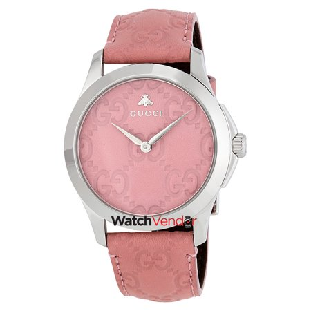 6dde4fcc447 Gucci G-Timeless Candy Pink Dial Ladies Watch YA1264030 - image 1 of 3 ...