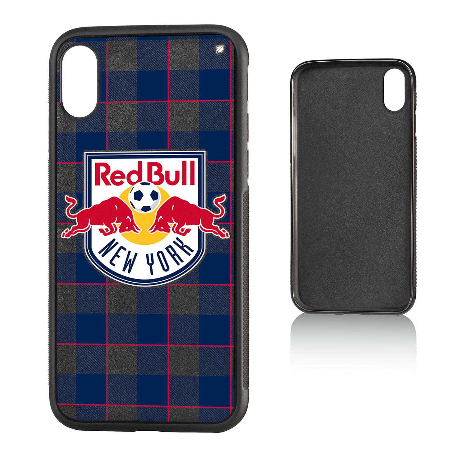 New York Red Bulls RED BULLS Plaid Bump Case for iPhone X