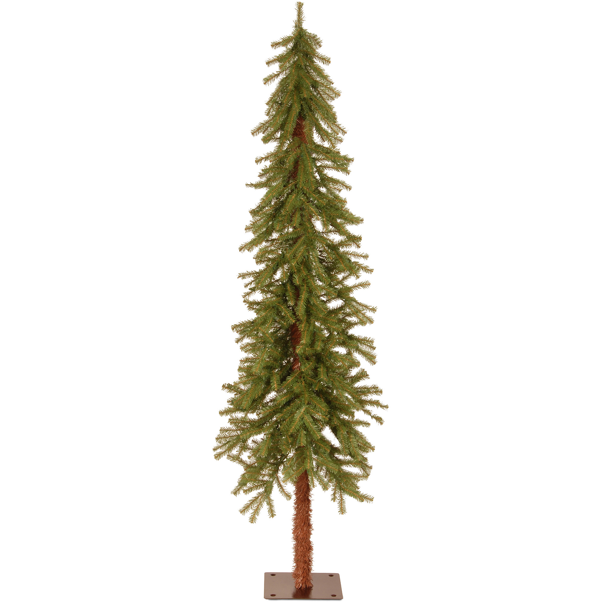 National Tree Unlit 6' Hickory Cedar Artificial Christmas Tree