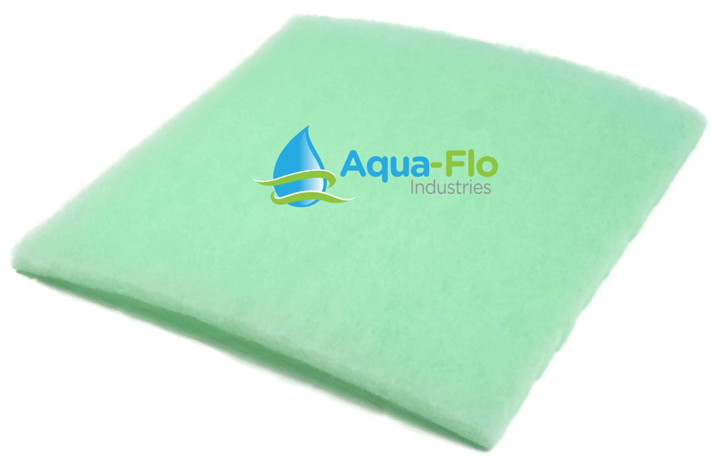 5 Pack Cut to Fit Pond and Aquarium Filter 24 x 24 x 1 Thick Filter Media Pads Lime Green