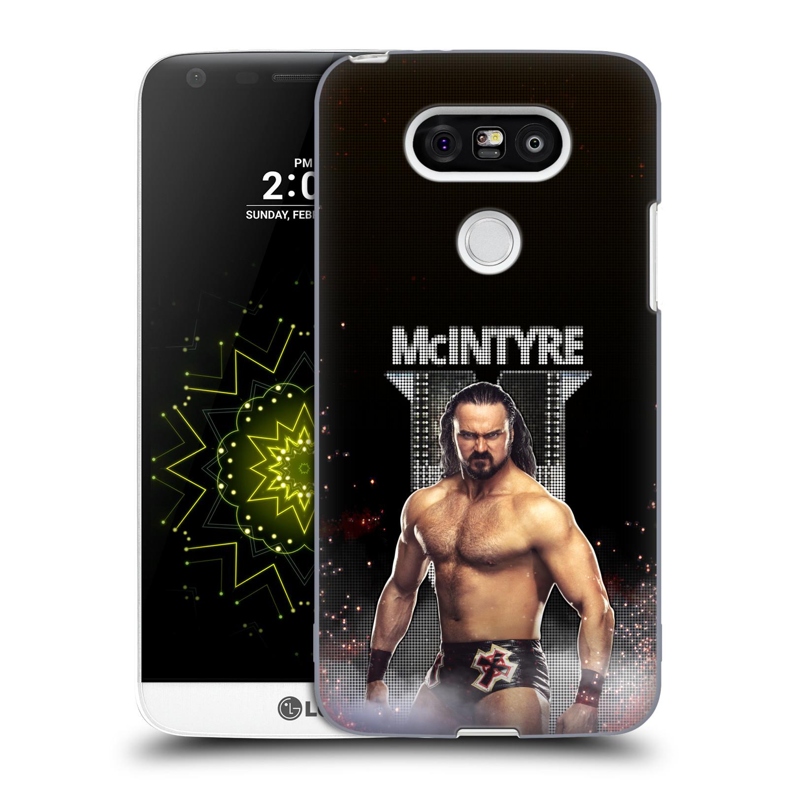 OFFICIAL WWE DREW MCINTYRE HARD BACK CASE FOR LG PHONES 1