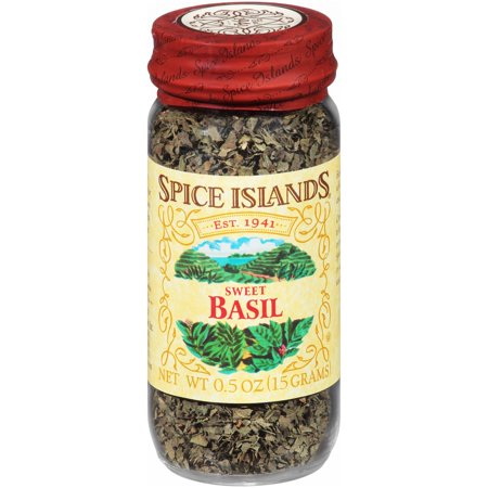 (2 Pack) Spice Islands® Sweet Basil 0.5 oz. Jar
