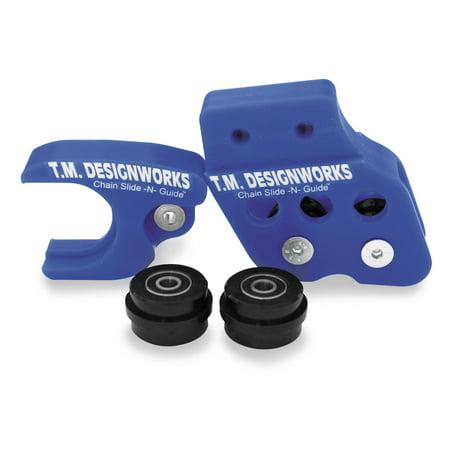 TM Design Works RCG-SRM-YL Dirt Cross Polifibar Rear Chain Guide Shell