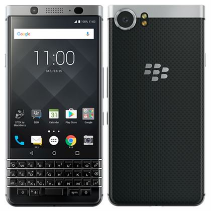 BlackBerry KEYone (32GB) BBB100-1 4G LTE GSM Global Unlocked Android Smartphone (US Warranty) Silver (Blackberry Z10 New)