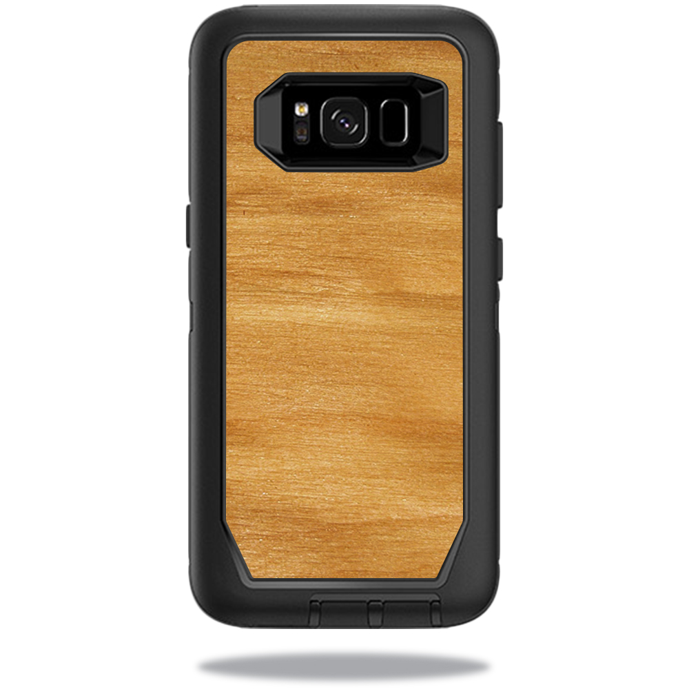 MightySkins Protective Vinyl Skin Decal for OtterBox DefenderSamsung Galaxy S8 Case sticker wrap cover sticker skins Birch Grain