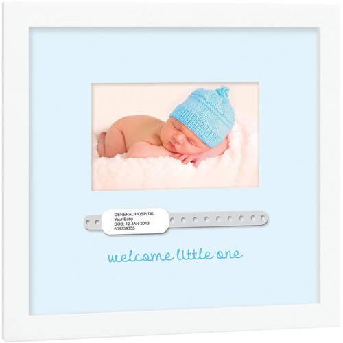 Tiny Ideas Baby Hospital Bracelet Keepsake Frame Walmartcom