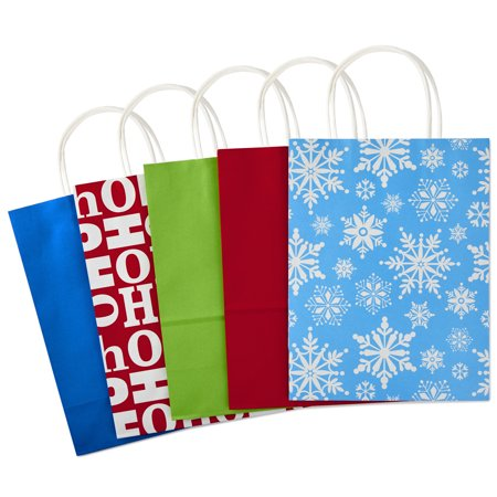 Hallmark Holiday Gift Bag Assortment Traditional Pack Of 15 Extra Large