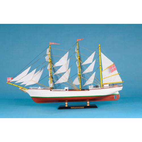 Handcrafted Nautical Decor Danmark Limited Model Ship by Handcrafted Model Ships