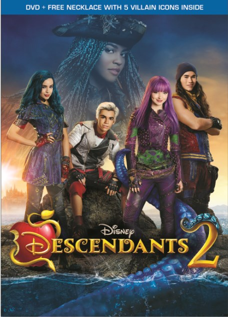 Descendants 2 (DVD + Free Necklace With 5 Villain Icons) by