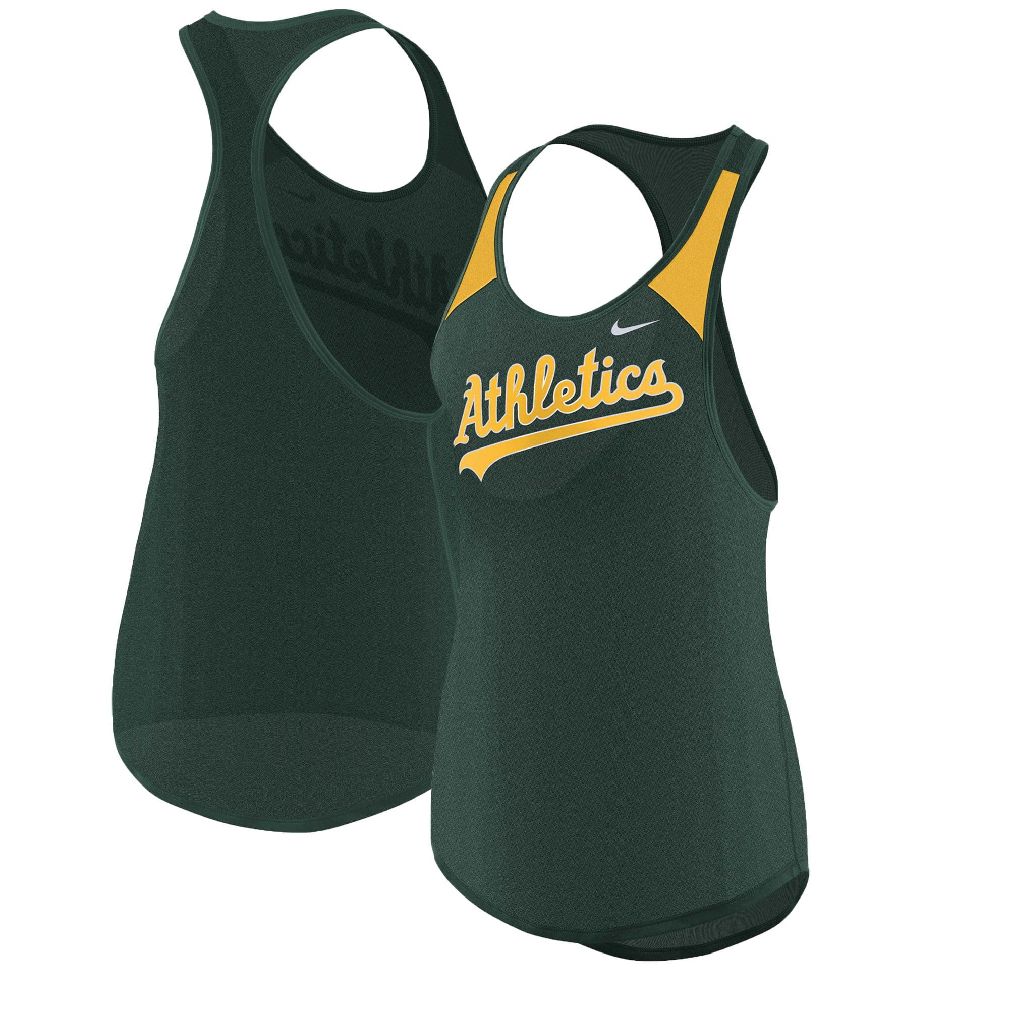 Oakland Athletics Nike Women's Wordmark Legend Tank Top - Green