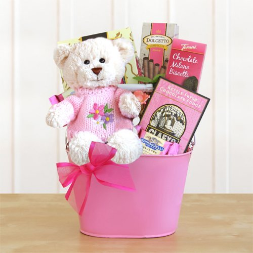 Sweet Valentine Bear Hugs Gift Basket