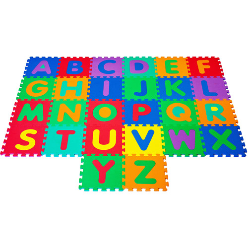 Trademark Games Foam Build & Play Alphabet Puzzle Play Mat