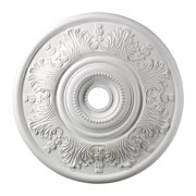 Lauerdale Medallion 30 Inch in White Finish