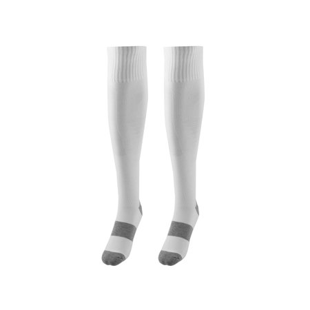 Unisex Sports Nylon Non Slip Stretch Rugby Soccer Football Long Socks White (Barton Rugby)
