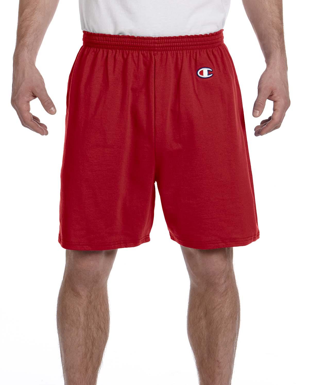 Men's Gym Short, Scarlet - S