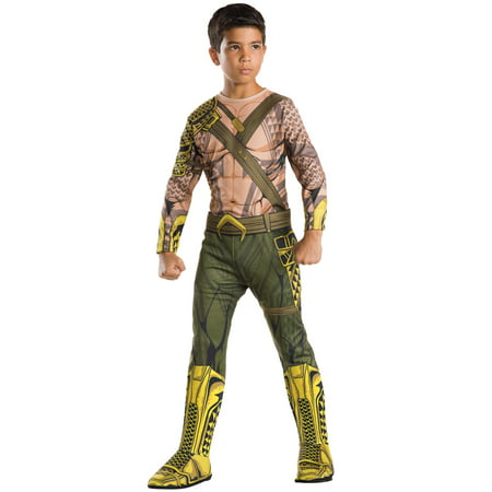 Child's Boys Batman V Superman Dawn Of Justice Aquaman Jumpsuit Costume](Boys Superman Costume)