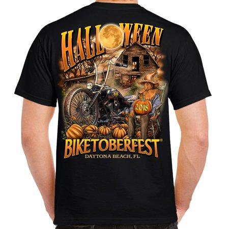 Biker Life 2018 Biketoberfest Daytona Beach Halloween T-Shirt