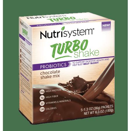 Nutrisystem Turbo Chocolate Shake Mix, 1.4 Oz, 20 Ct