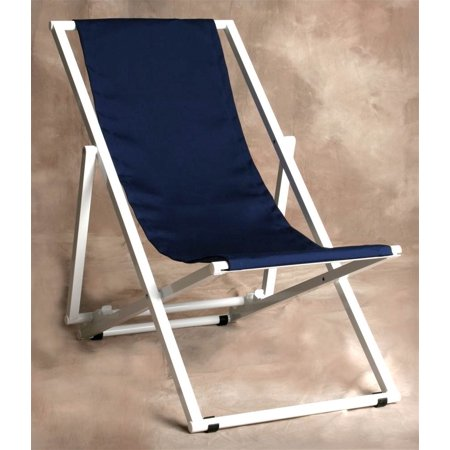 Multi Position Marine Blue Key West Lounge Chair